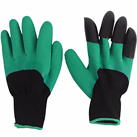2pcs Plastic Nylon Gloves With Claws 6649904