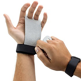 Protective Gear Hand Grips Hand  Wrist Brace Genuine Leather Protection Lightweight Training Slip Resistant Exercise  Fitness Gym Workout Gymnatics For Unisex