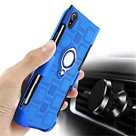 Case For Sony Xperia XA1 Ultra / Xperia XA1 Shockproof / with Stand Back Cover Solid Colored Hard PC for Sony Xperia XZ1 / Sony Xperia XA1 Ultra / Sony Xperia