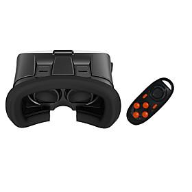 caja vr móviles gafas 3D de realidad virtual casco espejo tormenta Kotaku con mando a distancia 4103260
