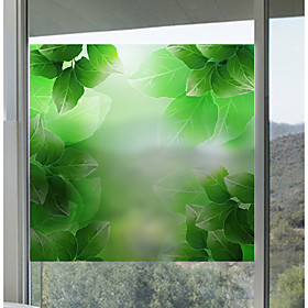 Window Film  Stickers Decoration Matte / Contemporary 3D Print PVC(PolyVinyl Chloride) Window Sticker / Matte