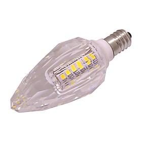 1pc 3W 260lm E14 Luci LED a candela T 40 Perline LED SMD 2835 Bianco caldo / Luce fredda 220-240V 6669936