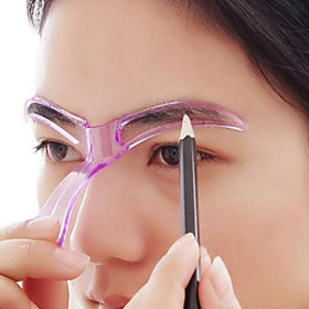 Makeup Set Eyebrow Stencil Professional Level / Portable / Multi Function Makeup 10 pcs Plastics Eye / Face Portable / Universal Cosmetic Grooming Supplies