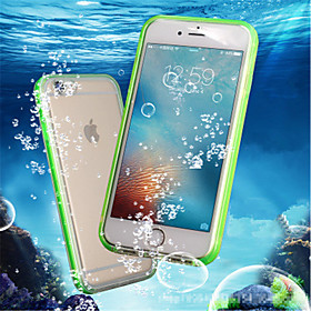 Case For Apple iPhone 8 Plus / iPhone 7 Waterproof / Shockproof / Transparent Full Body Cases Solid Colored Soft TPU for iPhone 8 Plus / iPhone 8 / iPhone 7 Pl