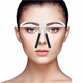 Eyebrow Stencil Professional Level Makeup 1 pcs Stainless Steel Eyebrow / Face Portable / Universal Cosmetic Grooming Supplies