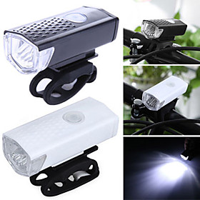 Luce frontale per bici LED Ciclismo Impermeabile, Portatile, Rilascio rapido 400 lm Batterie ricaricabili Bianco Campeggio / Escursionismo / Speleologia / Cicl 6677286