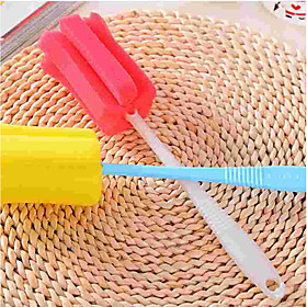 Kitchen Cleaning Supplies Sponge / Plastic Cleaning Brush  Cloth Simple / Protection / Tools 1pc