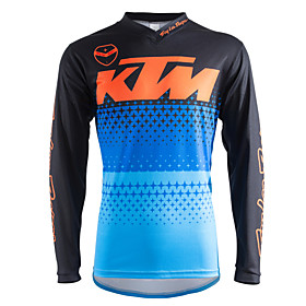 Motorcycle Long-Sleeved T-Shirt Quick-Drying Riding Suits Down The Costume 6128333