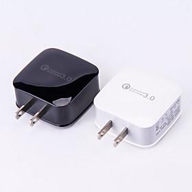 Dock Charger USB Charger US Plug / USB QC 3.0 1 USB Port 3 A DC 12V / DC 9V / DC 5V for