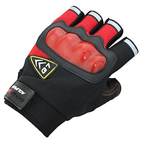 Running Gloves / Gloves / Sports Gloves Activity  Sports Gloves / Outdoor / Bike / Cycling Shock Resistant / Anti-Wind / Sticky Terylene 6715054