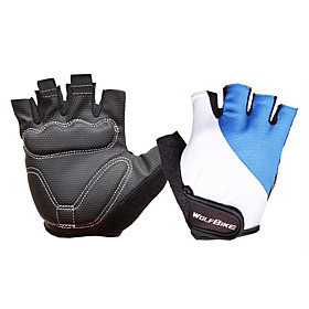 WOSAWE Half-finger Unisex Motorcycle Gloves Breathable Mesh Breathable / Wearproof / Non-slip 6770065