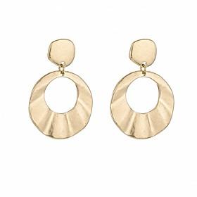 Women's Stud Earrings Drop Earrings Hoop Earrings Earrings Ladies Vintage Jewelry Gold For Formal Going out 1 Pair