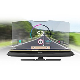 6 inch Head Up Display GPS / Foldable / Multi-functional display for Car / Bus / Truck Display KM / h MPH