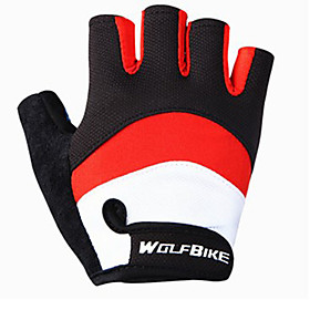WOSAWE Half-finger Unisex Motorcycle Gloves Breathable Mesh Breathable / Wearproof / Non-slip 6770061