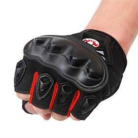 WOSAWE Half-finger Unisex Motorcycle Gloves PVC (Polyvinylchlorid) / Breathable Mesh / Polyester Fabric Breathable / Wearproof / Shockproof 6770067