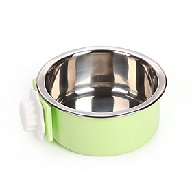 2 L L Dogs / Rabbits / Furry Small Pets Bowls Water Bottles / Feeders / Food Storage Pet Bowls Feeding Portable / Case Included Green / Blue / Pink