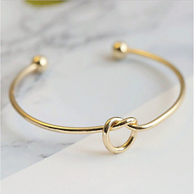 Women's Mismatched Bracelet Bangles - Gold Plated European, Casual / Sporty, Fashion Bracelet Gold / Silver For Daily Date