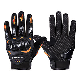 WOSAWE Full Finger Unisex Motorcycle Gloves Duck Down / Polyster / Breathable Mesh Breathable / Wearproof / Shockproof 6750424