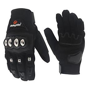 RidingTribe Full Finger Unisex Motorcycle Gloves Nylon Breathable / Touch Screen 6734017