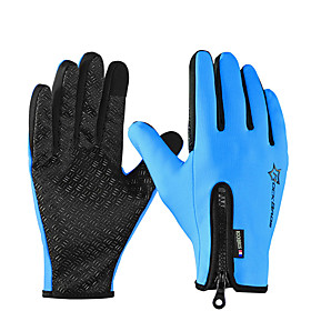 ROCKBROS Full Finger Unisex Motorcycle Gloves Polyster Waterproof / Keep Warm / Breathable 6761714