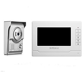 XINSILU Security 7inch Wired Video Door Phone Doorbell Intercom Door Access Control System