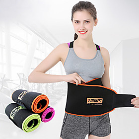 Waist Trimmer / Sauna Belt Nylon Adjustable Sweat-wicking Breathable Weight Loss Tummy Fat Burner Exercise  Fitness Gym Workout Workout For Unisex