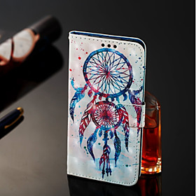 Case For Samsung Galaxy A6 (2018) / A6 (2018) Wallet / Card Holder / with Stand Full Body Cases Dream Catcher Hard PU Leather for A6 (2018) / A6 (2018) / A8 20