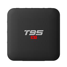 PULIERDE T95S1 TV Box Android 7.1 TV Box Amlogic S905W 1GB RAM 8GB ROM Quad Core New Design