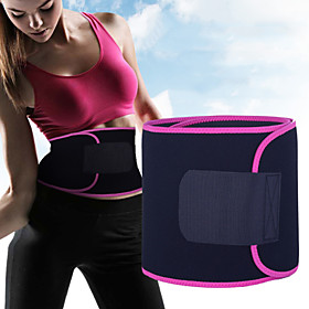 Sweat Waist Trimmer Sauna Belt Rubber Adjustable Stretchy Weight Loss Tummy Fat Burner Calories Burned Yoga Exercise  Fitness For Waist Sports Outdoor