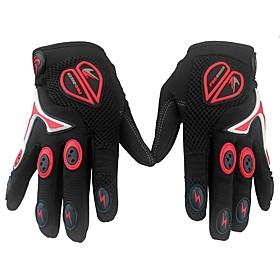 PRO-BIKER Full Finger Unisex Motorcycle Gloves Nylon Fiber / Spandex Lycra / Polyster Breathable / Professional / Non-slip 6836613