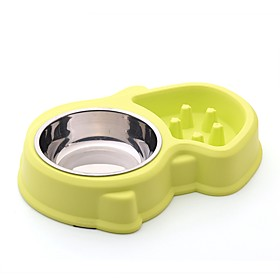 3 L L Rodents / Dogs / Rabbits Feeders / Food Storage Pet Bowls Feeding Waterproof / Portable / Outdoor Blue / Pink