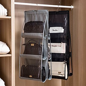 PVC(PolyVinyl Chloride) / Non-woven Rectangle Creative / New Design Home Organization, 1set Storage Units / Closet Organizers