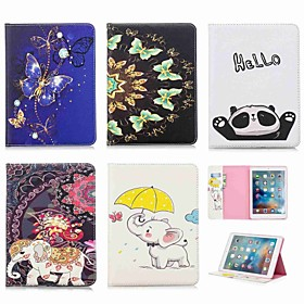 Case For Apple iPad Pro 11'' / iPad Pro 9.7 Wallet / Card Holder / with Stand Full Body Cases Elephant Hard PU Leather for iPad (2018) / iPad Pro 11'' / iPad P