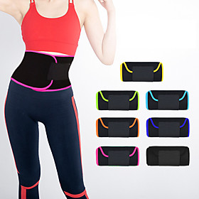 Sweat Waist Trimmer Sauna Belt Rubber Non Toxic Weight Loss Tummy Fat Burner Calories Burned Yoga Exercise  Fitness Workout For Waist Sports Outdoor