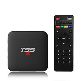 PULIERDE T95S1-1 TV Box Android 7.1 TV Box Amlogic S905W 2GB RAM 16GB ROM Quad Core New Design