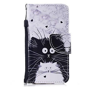 Case For Apple iPhone 6 / iPhone 6s Wallet / Card Holder / Flip Full Body Cases Cat Hard PU Leather for iPhone 6s / iPhone 6