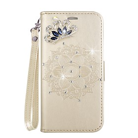 Case For Samsung Galaxy J6 / J4 Card Holder / with Stand / Flip Full Body Cases Mandala Hard PU Leather for J6 / J4