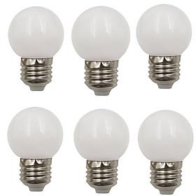 6pcs 2 W 80 lm E26 / E27 LED Globe Bulbs G45 8 LED Beads SMD 2835 Decorative / Christmas Wedding Decoration Warm White / Cold White 220-240 V / RoHS