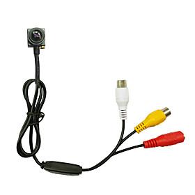 CMOS 600TVL Audio Mini Camera CCTV Security Camera indoor Pinhole Camera Size 16x16mm Simulated Camera