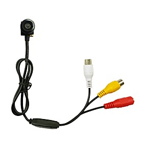 CMOS 600TVL Audio Mini Camera 1.8mm wide Angle lens Security Camera indoor Pinhole Camera Size 16x16mm Simulated Camera