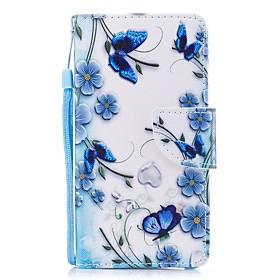 Case For Apple iPhone 6 / iPhone 6s Wallet / Card Holder / Flip Full Body Cases Flower Hard PU Leather for iPhone 6s / iPhone 6