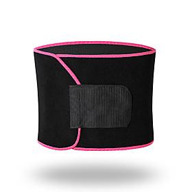 Sweat Waist Trimmer Sauna Belt Terylene Adjustable Stretchy Weight Loss Tummy Fat Burner Calories Burned Yoga Exercise  Fitness Bodybuilding For Waist Sports O