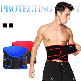 Waist Trimmer / Sauna Belt Lycra Stretchy Breathable Adjustable / Retractable Training Exercise  Fitness Gym Workout Workout For Men's Waist