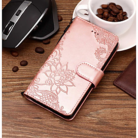 Case For Apple iPhone X / iPhone 8 Wallet / Card Holder / with Stand Full Body Cases Lace Printing Hard PU Leather for iPhone X / iPhone 8 Plus / iPhone 8