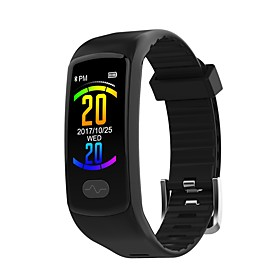 JSBP E07 Smart Bracelet Smartwatch Android iOS Bluetooth Sports Waterproof Heart Rate Monitor Blood Pressure Measurement Touch Screen ECGPPG Pedometer Call Rem