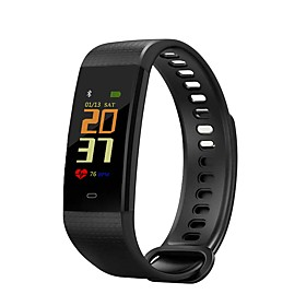 JSBP Y5 Smartwatch Smart Bracelet Smartwatch Android iOS Bluetooth Sports Heart Rate Monitor Blood Pressure Measurement Touch Screen Calories Burned Pedometer