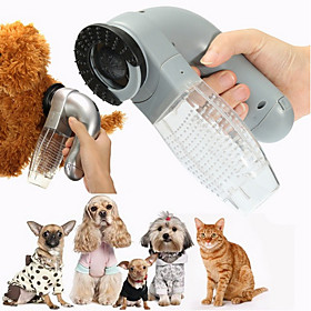 Dog Cat Pet Electric Hair Grooming Vacuum Cleaner Fur Shedding Remover Trimmer Brush Comb 6864236