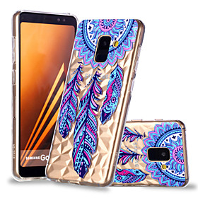 Case For Samsung Galaxy A8 Plus 2018 / A8 2018 Pattern Back Cover Dream Catcher Soft TPU for A6 (2018) / A6 (2018) / A8 2018