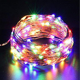 ZDM 10m Flexible LED Light Strips / String Lights 100 LEDs SMD 0603 RGB / Color-changing Waterproof / New Design / Party 5 V / USB Powered 1pc