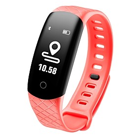 COOLHILLS CB608 PRO Smart Bracelet Smartwatch Android iOS Bluetooth Waterproof Heart Rate Monitor Blood Pressure Measurement Touch Screen Long Standby Pedomete